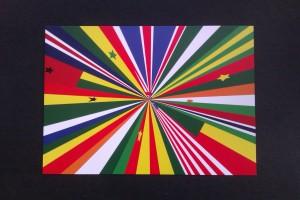 We Face Forward postcard: Meschac Gaba, Ensemble 2011