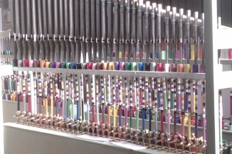 Recycled organ Pipes!