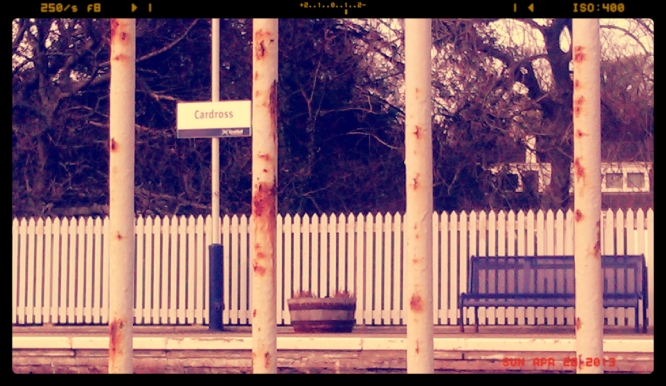 Cardross Train Station