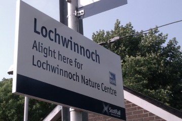 Lochwinnoch train station