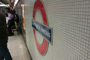 Kings Cross St. Pancras underground