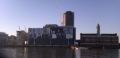 Sea containers building 2012 Royal family mega poster 2