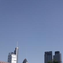 London skyline near Finsbury Square